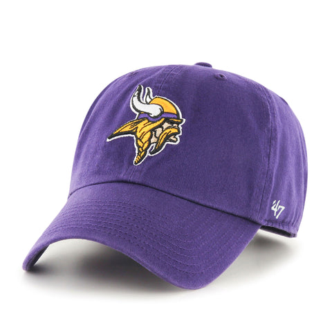 Minnesota Vikings NFL Clean Up Team Cap