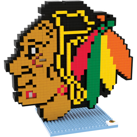 Chicago Blackhawks Logo BRXLZ Puzzle
