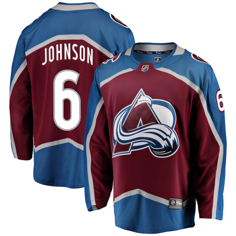 Erik Johnson Colorado Avalanche NHL Fanatics Breakaway Home Jersey