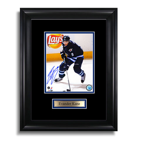 Evander Kane Signed Winnipeg Jets Framed Photo
