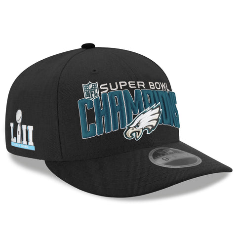 Philadelphia Eagles Super Bowl LII Champions 9Fifty Pre-Curve Cap