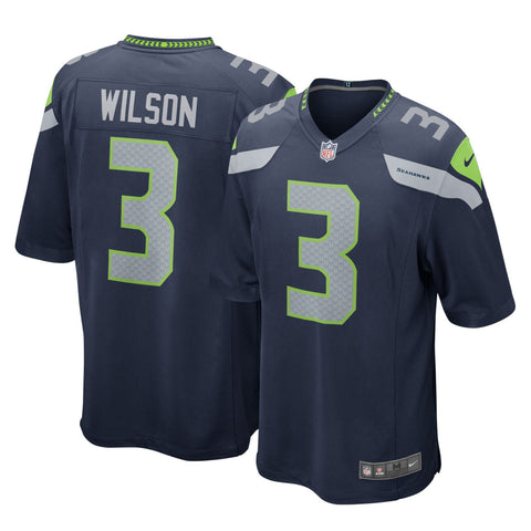 Youth Russell Wilson Seattle Seahawks Nike Game Team Jersey