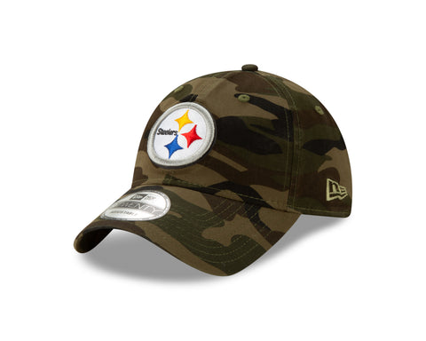 Men's Pittsburgh Steelers NFL Core Classic Twill Camo 9TWENTY Cap