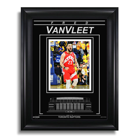 Fred VanVleet Toronto Raptors Engraved Framed Photo - 2019 NBA Finals