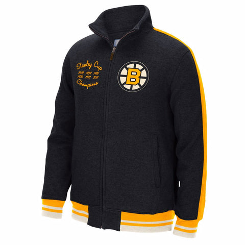 Boston Bruins Full Zip Jacket