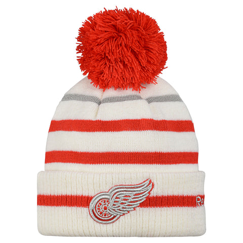 Detroit Red Wings Centennial Classic Cuffed Pom Knit