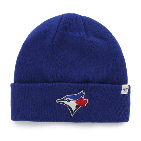 Toronto Blue Jays MLB Raised Cuffed Knit Beanie