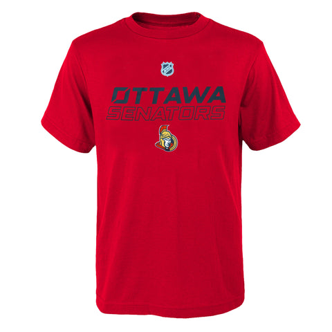 Youth Ottawa Senators NHL Prime Stock Short Sleeve Tee