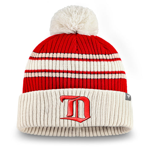 Detroit Red Wings NHL True Classic Cuffed Knit Toque