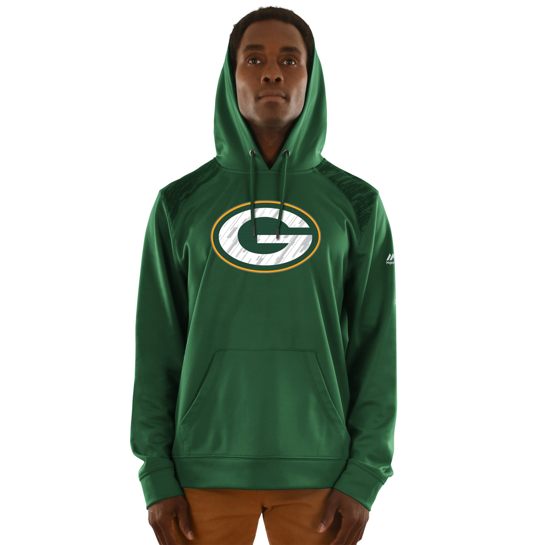 Green Bay Packers Armor Synthetic Hoodie – Sport Army 3656fc1f6