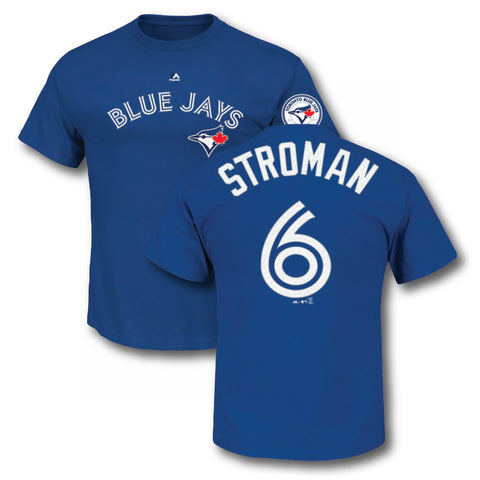 Toronto Blue Jays Marcus Stroman 40th Season Patch T-Shirt