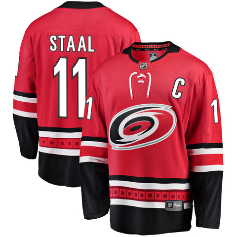 Jordan Staal Carolina Hurricanes NHL Fanatics Breakaway Home Jersey