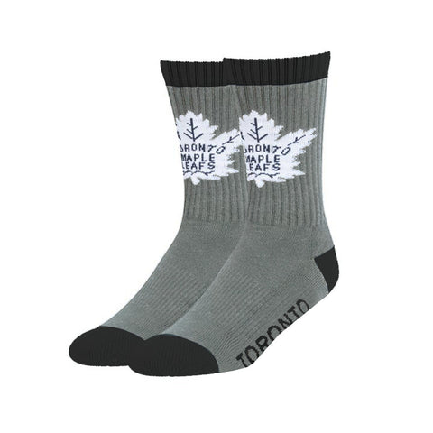 Men's Toronto Maple Leafs NHL Bolt 47 Sport Grey Socks