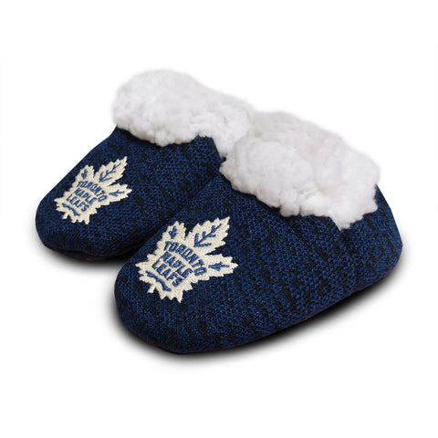 Toronto Maple Leafs NHL Infant PolyKnit Slippers