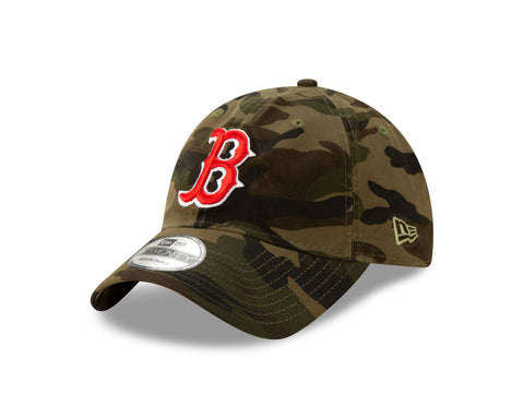 Men's Boston Red Sox MLB Core Classic Twill Camo 9TWENTY Cap