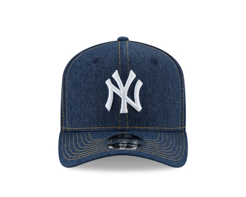New York Yankees MLB Denim Stitched Duo 9FIFTY Cap