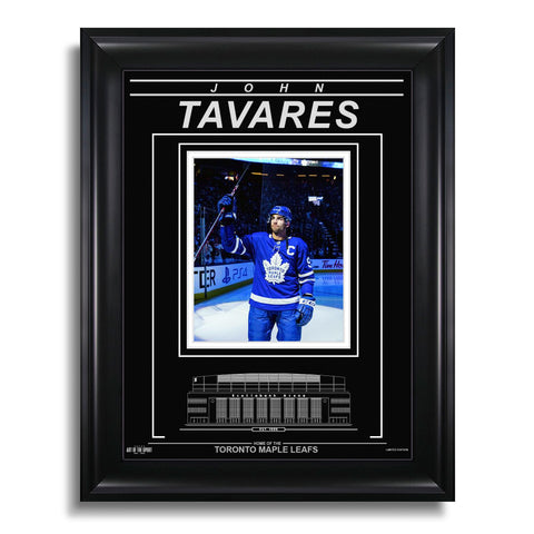 John Tavares Toronto Maple Leafs Engraved Framed Photo - Captain