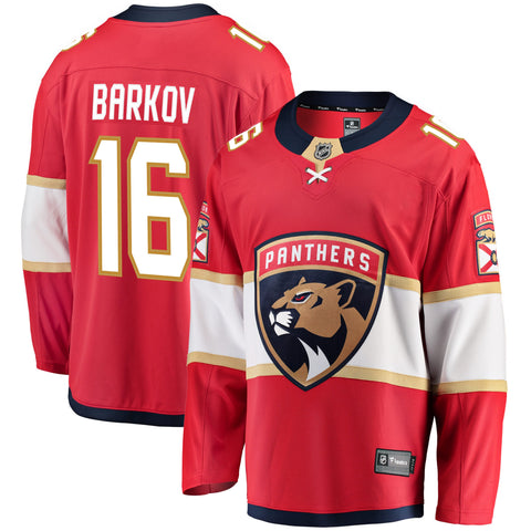Aleksander Barkov Florida Panthers NHL Fanatics Breakaway Home Jersey