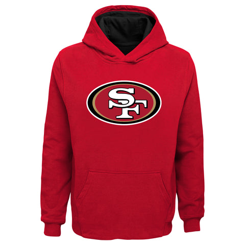 Youth San Francisco 49ers Prime Baisc Pullover Hoodie