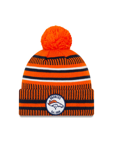 Denver Broncos NFL New Era Sideline Home Official Cuffed Knit Toque