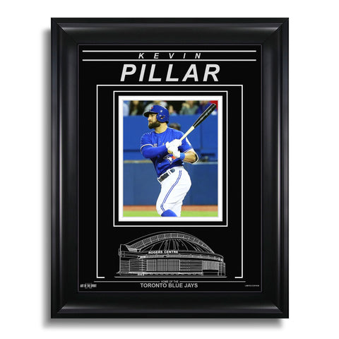 Kevin Pillar Toronto Blue Jays Engraved Framed Photo - Action Hit