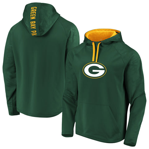 Green Bay Packers NFL Fanatics Defender Primary Logo Hoodie