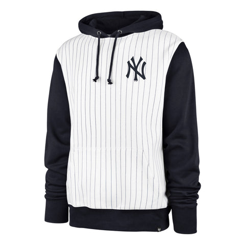 Men's New York Yankees MLB Imprint '47 Pinstripe Hoodie