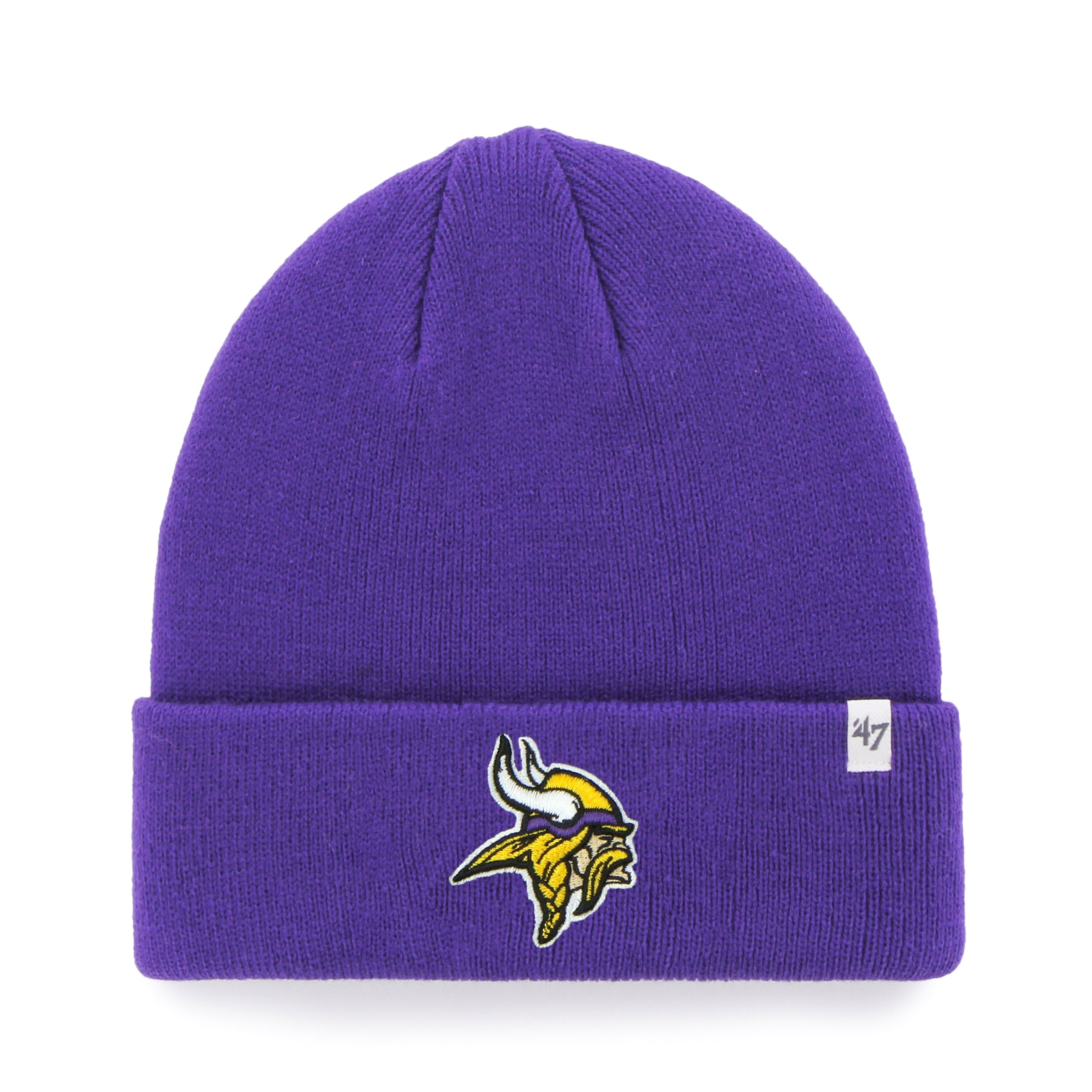 2171ee1f Minnesota Vikings NFL Raised Cuffed Knit Beanie