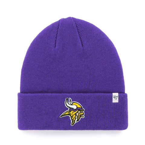 Minnesota Vikings NFL Raised Cuffed Knit Beanie