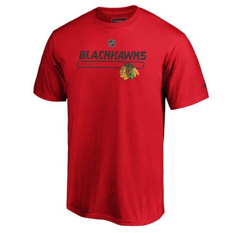 Chicago Blackhawks NHL Authentic Pro Prime T-Shirt