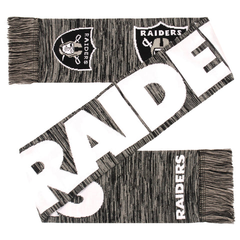 Oakland Raiders NFL Color Blend Scarf