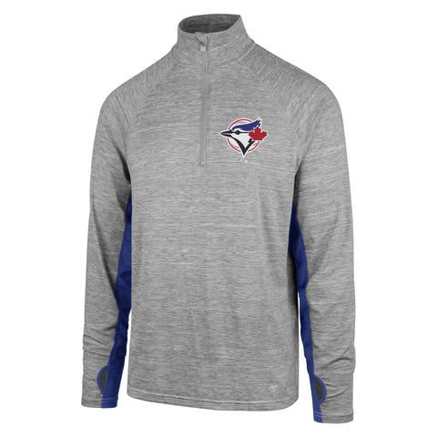 Toronto Blue Jays MLB 47 Forward Evolve 1/4 Zip