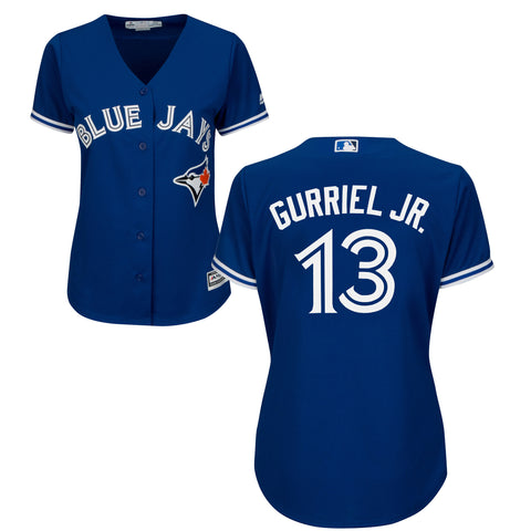 Ladies' Lourdes Gurriel Jr. Toronto Blue Jays MLB Cool Base Replica Away Jersey