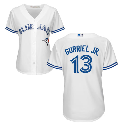 Ladies' Lourdes Gurriel Jr. Toronto Blue Jays MLB Cool Base Replica Home Jersey