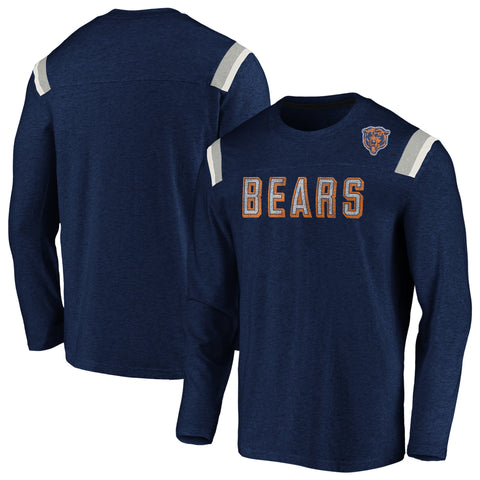 Chicago Bears NFL Fanatics Vintage Slub Long Sleeve