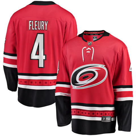 Haydn Fleury Carolina Hurricanes NHL Fanatics Breakaway Home Jersey