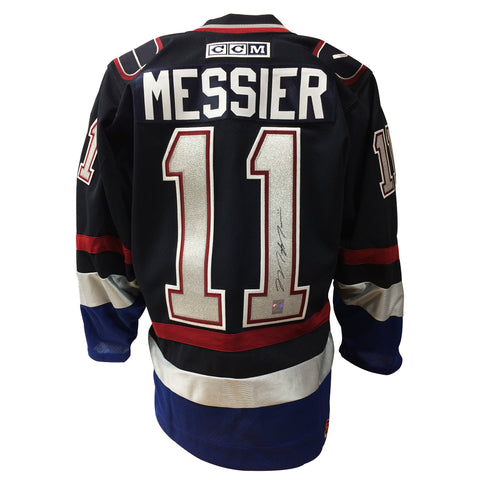 Mark Messier Signed Vancouver Canucks Jersey