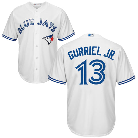 Men's Lourdes Gurriel Jr. Toronto Blue Jays MLB Cool Base Replica Home Jersey