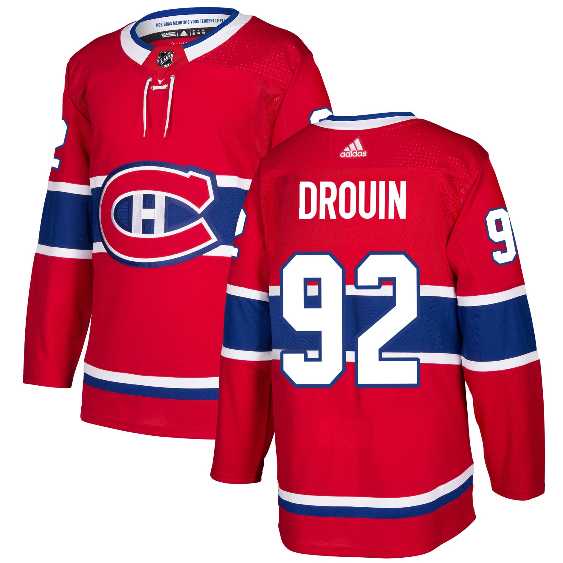 new products 0ba4b c212f Montreal Canadiens Jonathan Drouin NHL Authentic Pro Home Jersey