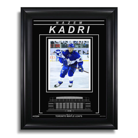 Nazem Kadri Toronto Maple Leafs Engraved Framed Photo - Centennial Classic