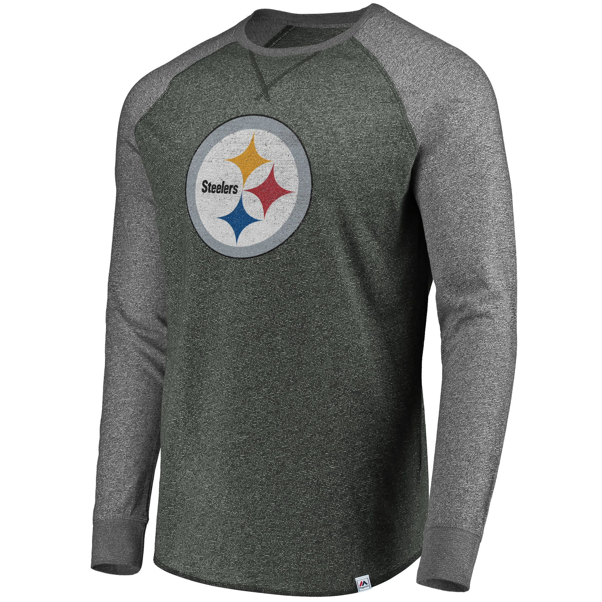 timeless design d03ad 49ea3 Pittsburgh Steelers NFL Static Raglan