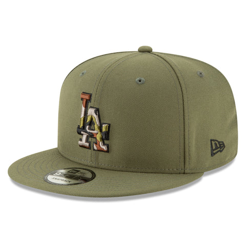 Los Angeles Dodgers MLB Camo Trim 9FIFTY Cap