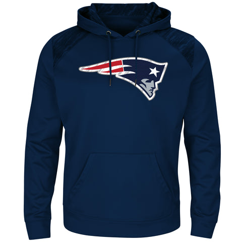 New England Patriots Armor Synthetic Hoodie