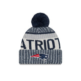 New England Patriots On-Field Sport Knit Pom Toque