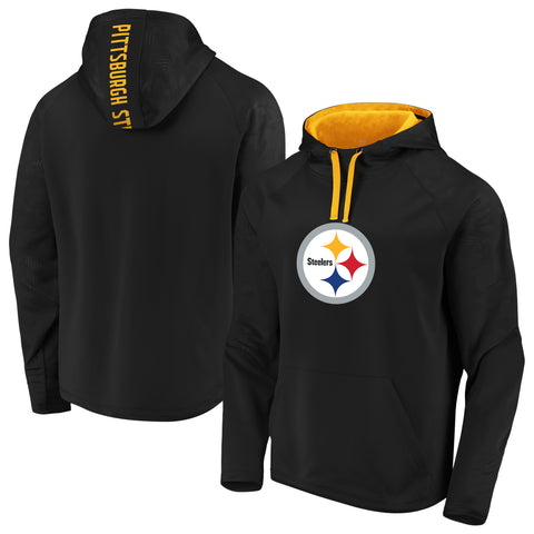 Pittsburgh Steelers NFL Fanatics Defender Primary Logo Hoodie