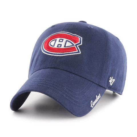 Ladies' Montreal Canadiens NHL Miata 47 Team Color Clean Up Cap