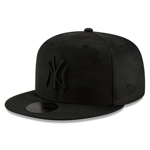 New York Yankees MLB Blackout Camo Play Cap