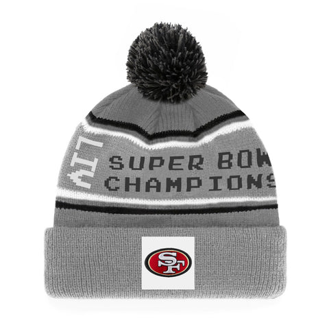 Men's San Francisco 49ers 2019 NFL Super Bowl LIV Parade Cuffed Knit Toque