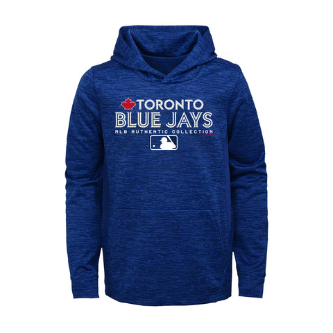 Toronto Blue Jays Youth Authentic Team Drive On-Field Hoodie