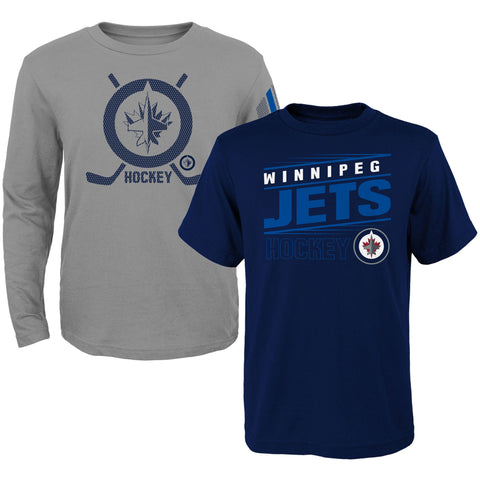 Youth Winnipeg Jets NHL Binary 2 In 1 Combo Pack